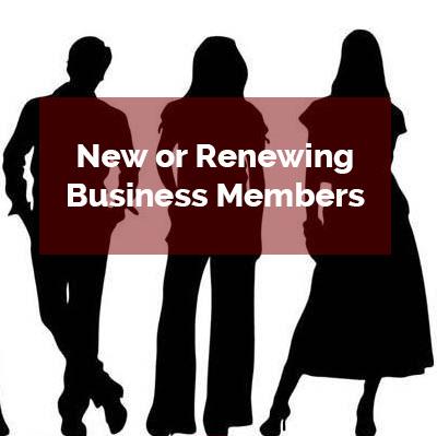 new or renewing business members