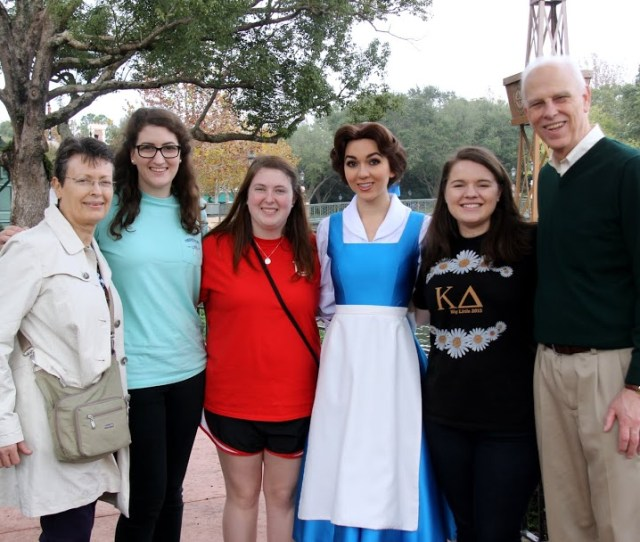 The Union University Group At The Phi Alpha Theta Convention Stand With Belle Dressed In