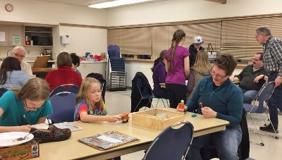 2018 Family Games Night in Knatvold
