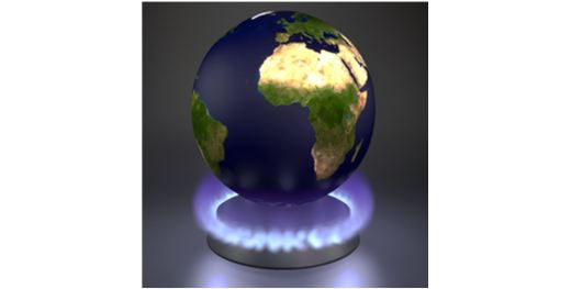 Earth on stove burner