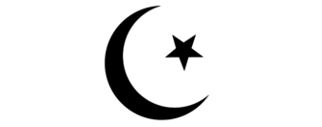 Islamic symbol - crescent and star