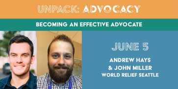 Unpack Advocacy: Becoming an Effective Advocate, June 5
