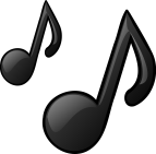 Two musical notes