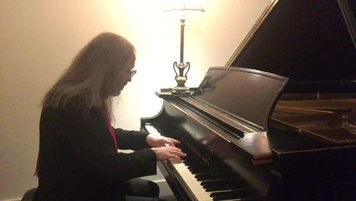 Dwight Beckmeyer Performing at the Piano