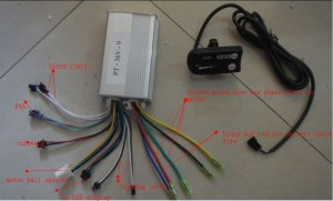 16 inch 48v 500w electric scooter kit  UU Motor