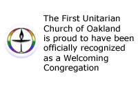 Official Welcoming Congregation Logo