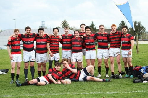 Trinity v UUC - Maughan Scally Cup 2019