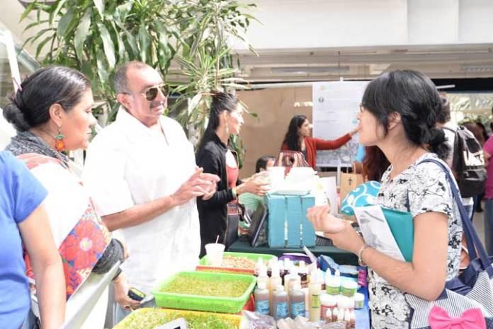 La alimentación sana fue uno de los principales ejes de la Expo Sustenta