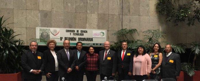 Clementina Guerrero participó en una reunión con  Legisladores, así como con rectores y representantes de universidades adscritas a la ANUIES