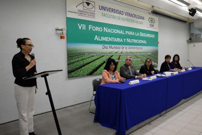 : Leticia Rodríguez Audirac inauguró el VII Foro Nacional para la Seguridad Alimentaria y Nutricional