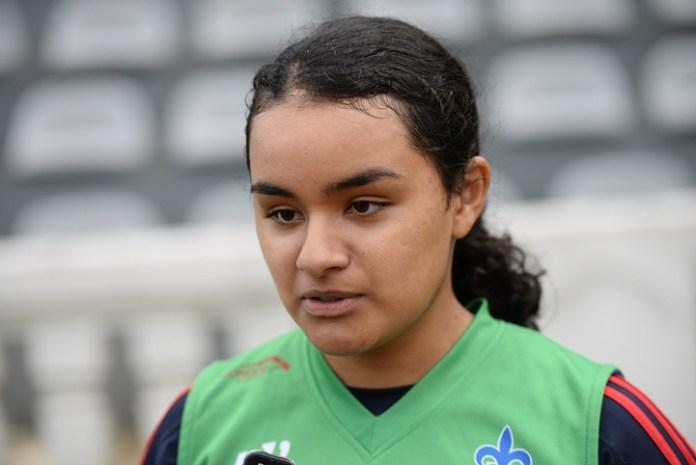 María Fernanda Velásquez, destacada atleta