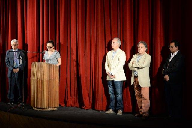 En la inauguración se destacó que esta edición está dedicada al dramaturgo Hosmé Israel Martínez y a los universitarios desaparecidos