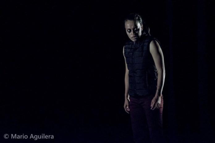 Jazmín González, integrante de la coreografía Stimmen de la UV, obtuvo el premio a la Mejor Intérprete Femenina