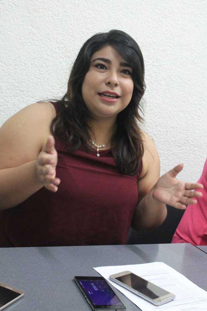Wendy del Carmen Figueroa Guzmán, miembro del grupo de promotores de la lectura