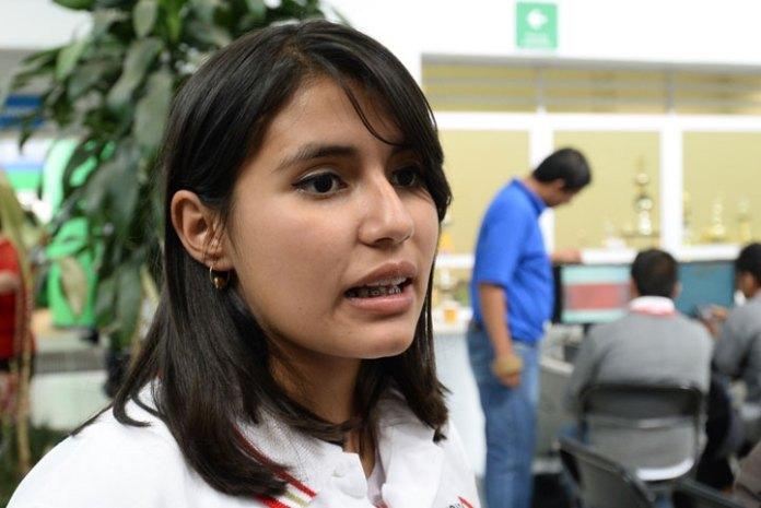 Dalia Mendoza, estudiante de quinto semestre del Telebachillerato de Jilotepec