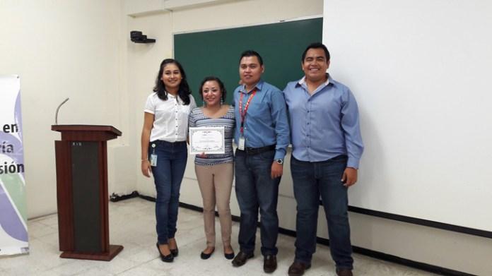 Génesis Campo, Irene Carrillo, Antonio López y Nicolás Molina
