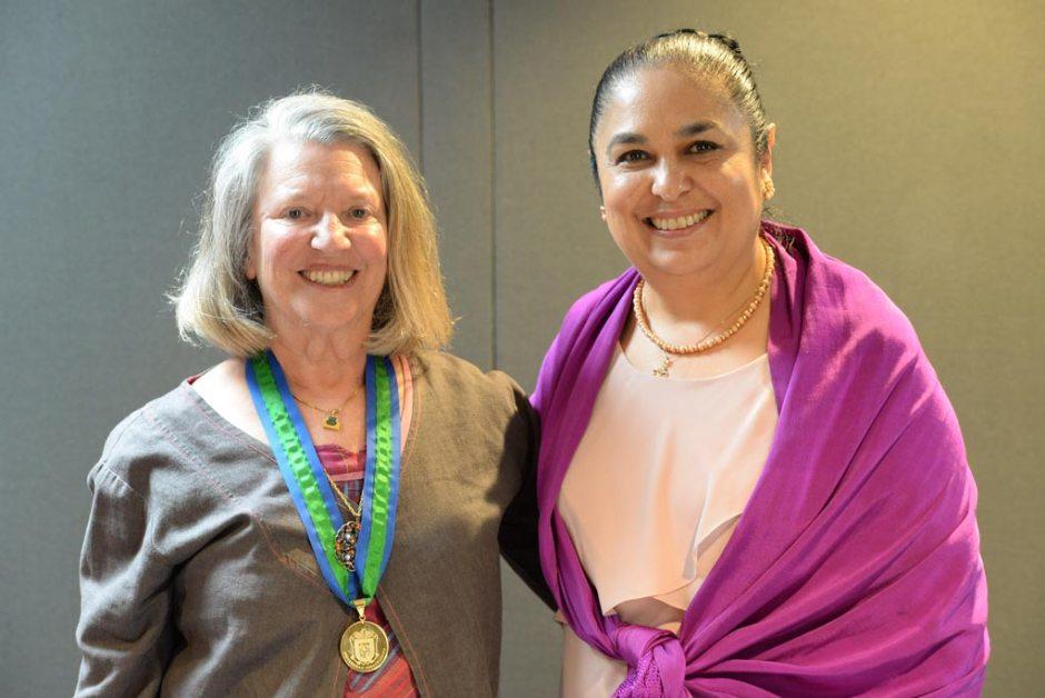 Nancy Fraser y Sara Ladrón de Guevara