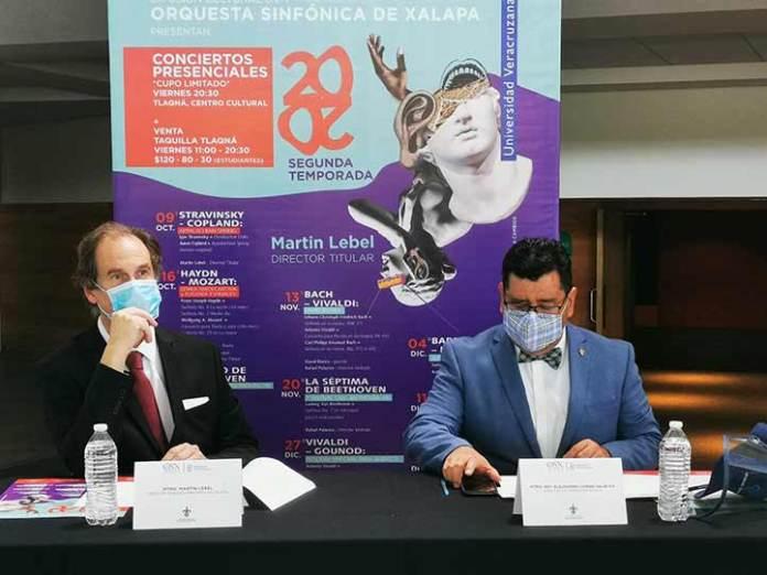 Martin Lebel y Alejandro Conde