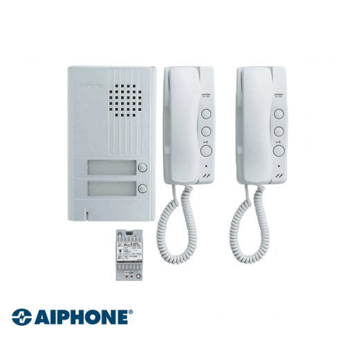 Aiphone Audio set 2 appartementen (DA-1MD x 2