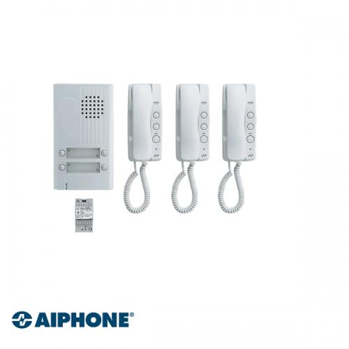 Aiphone Audio set 3 appartementen (DA-1MD x 3