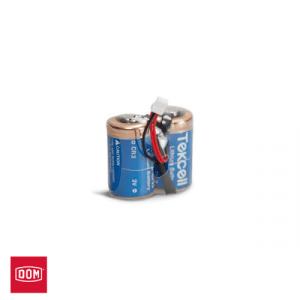 DOM Batterijpack 2-CR2-Pack