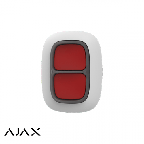 Ajax Dubbele Paniekknop Wit