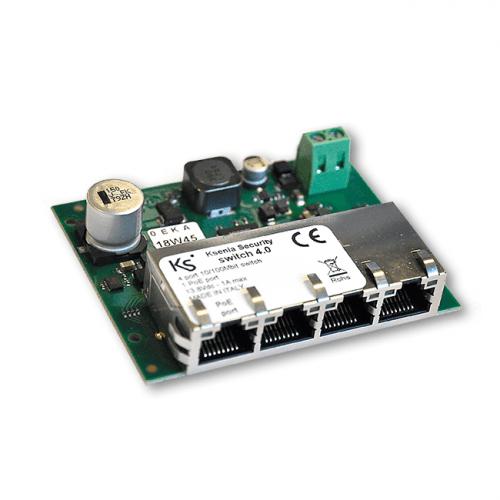 Ksenia Switch 4.0- 4 port ethernet switch