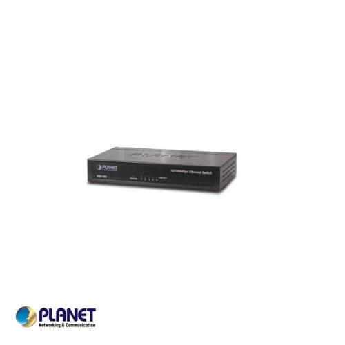 5-Port 10/100Mbps Fast Ethernet Switch
