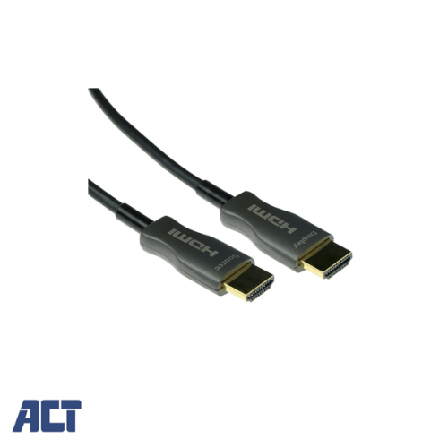 ACT 30 meter HDMI Hybride HDMI-A male - HDMI-A male