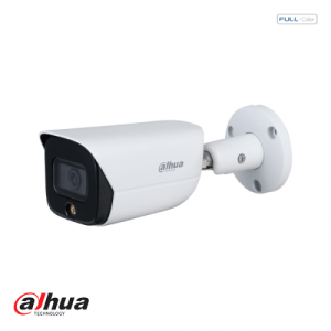 Dahua 4MP Lite AI Full-color Warm wit licht LED Warm Bullet Network Camera 2.8mm