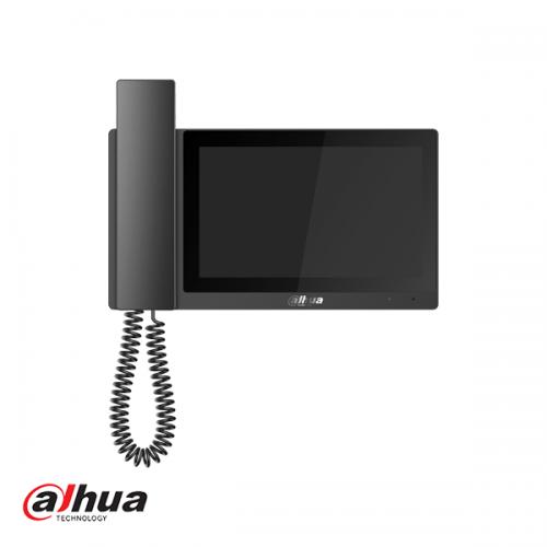 """Dahua 7"""" Handset IP Indoor Monitor Zwart"""
