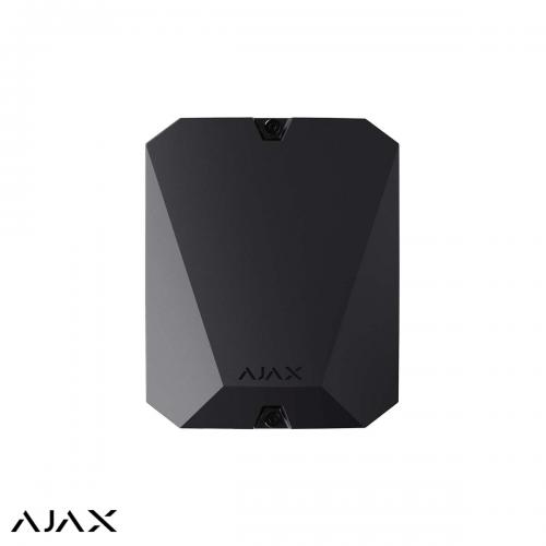 Ajax integratie module met 18 bedrade zones ZWART