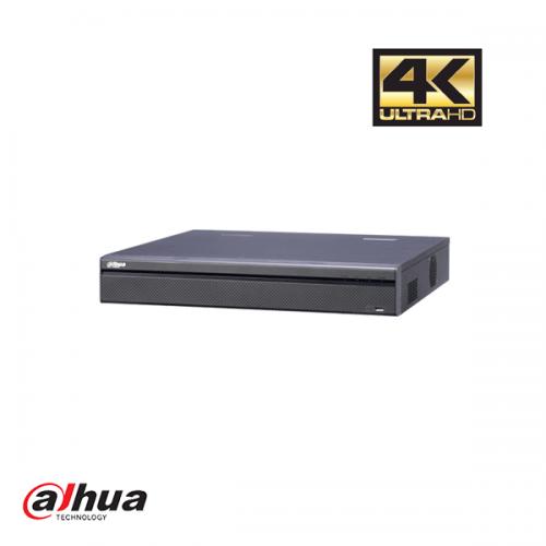 Dahua 32 kanalen 4K NVR incl 2 TB HDD