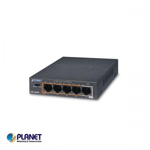 Planet 5-Port 10/100Mbps POE + 1-Port 10/100Mbps