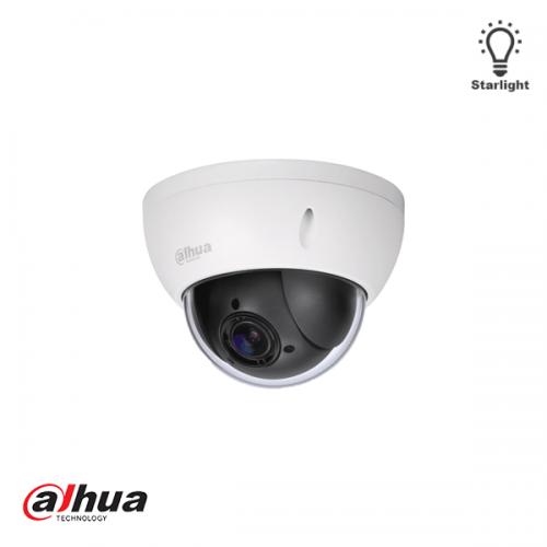 Dahua 2 Mp Full HD Starlight Network Mini PTZ Dome Camera