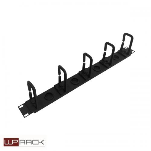 WP Rangeerpaneel plastic 1 U zwart