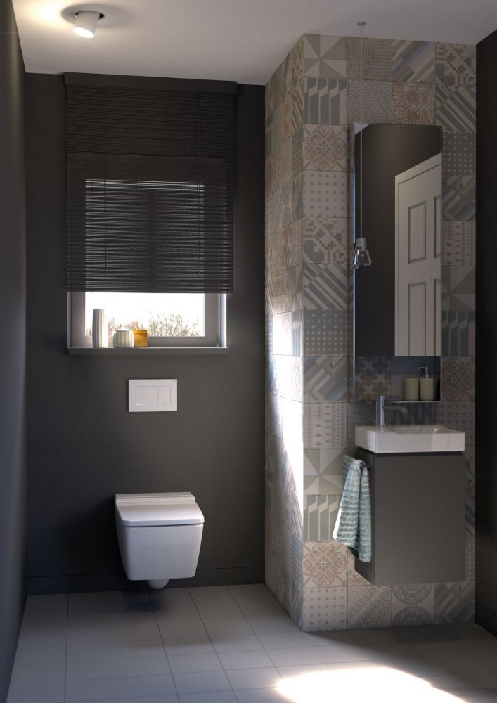 Geberit Sigma30 Toilet Bedienings UW Badkamernl