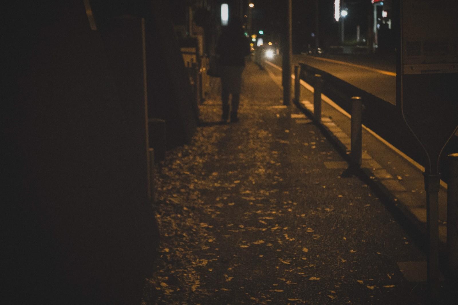 深夜の帰宅 女性 ストーカー