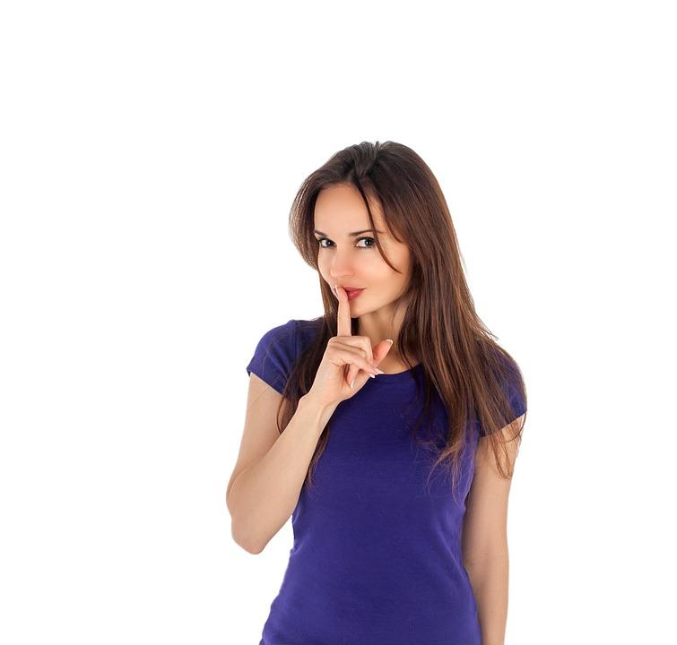 女性 秘密