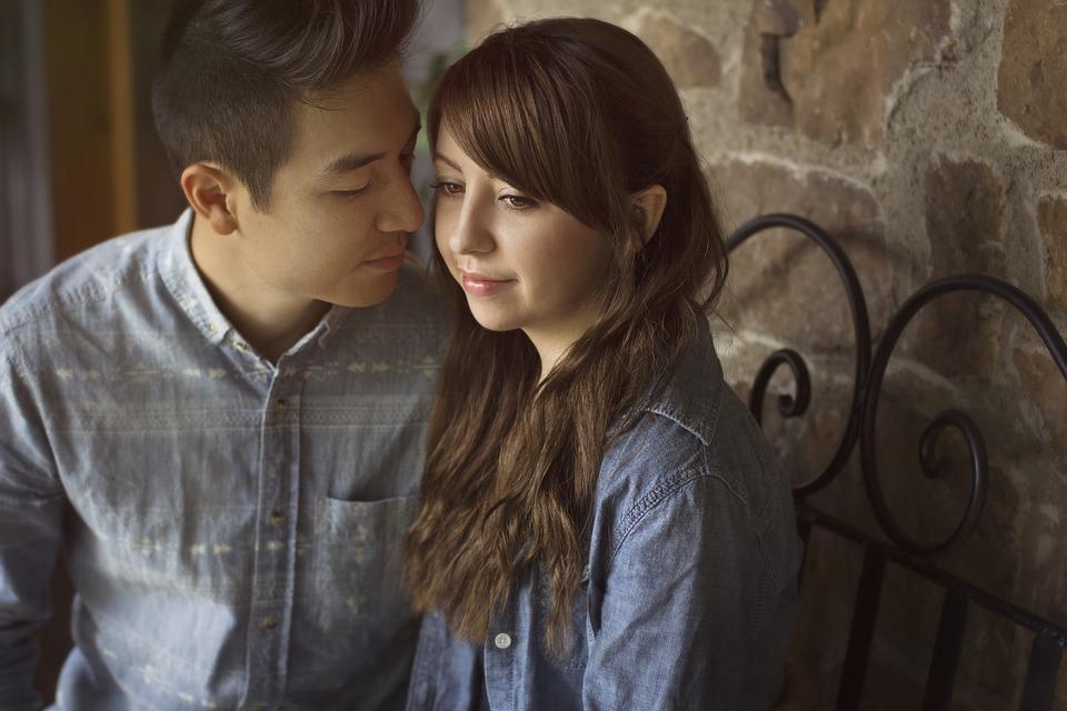 愛 カップル 幸せ ロマンス ロマンチック 出会い 美しさ エレガント 女の子 少年 男