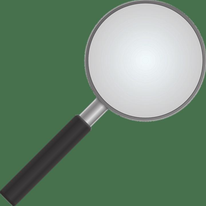 拡大鏡 拡大 ルーペ 探偵 観察 探求 凸レンズ 集光
