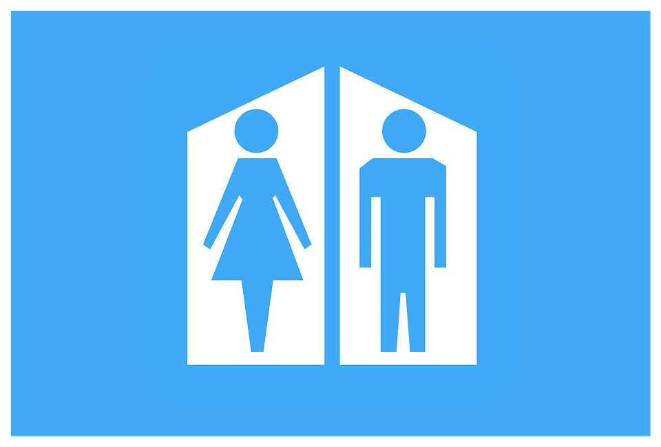アイコンを クリップアート 女性 紳士 シンボル 男性 男 トイレ シルエット 人間