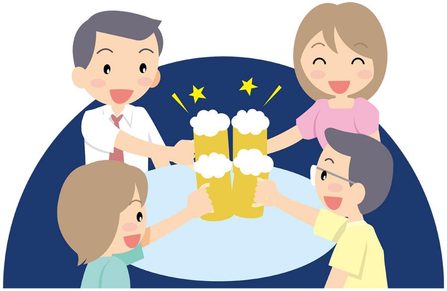 PTA 不倫 ビール 宴会 打ち上げ 夫 妻 浮気