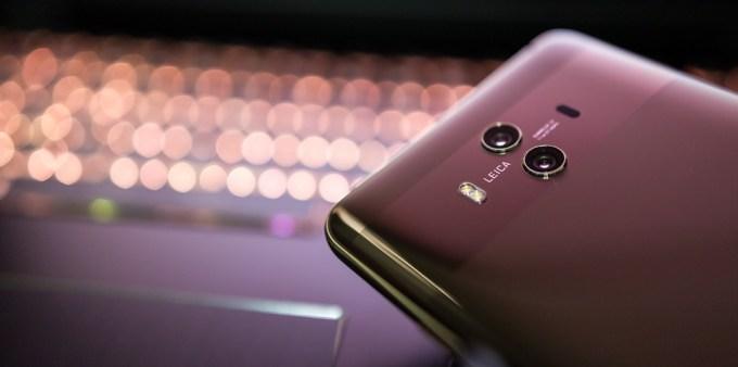 電話 スマート フォン Huawei社 メイト10 ボケ 絞り レンズ 携帯電話 技術
