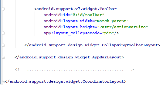 Collapsing layout with pin flag2