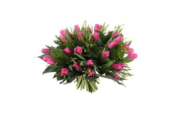 Roze tulpen   Boeket bezorgen   Uwbloemenman.nl