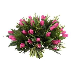 Roze tulpen | Boeket bezorgen | Uwbloemenman.nl