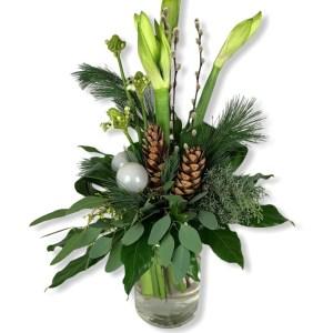 Amaryllis wit | Kerstsfeer in huis | Uwbloemenman.nl