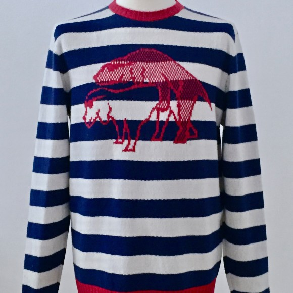 dogs-love-kaschmir-merino-handmade-pullover-hunde-dog-blau-weiss-rot-uweurbansky