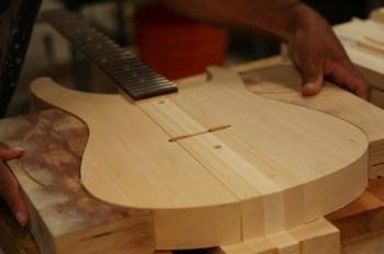 Zelf gitaar bouwen